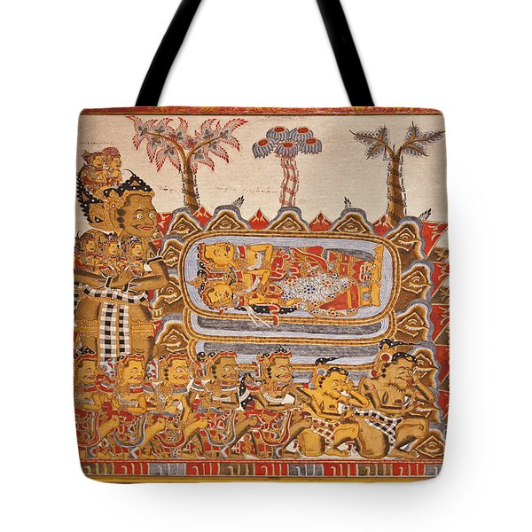 Tote Bag featuring the photograph Bali_d530 by Craig Lovell