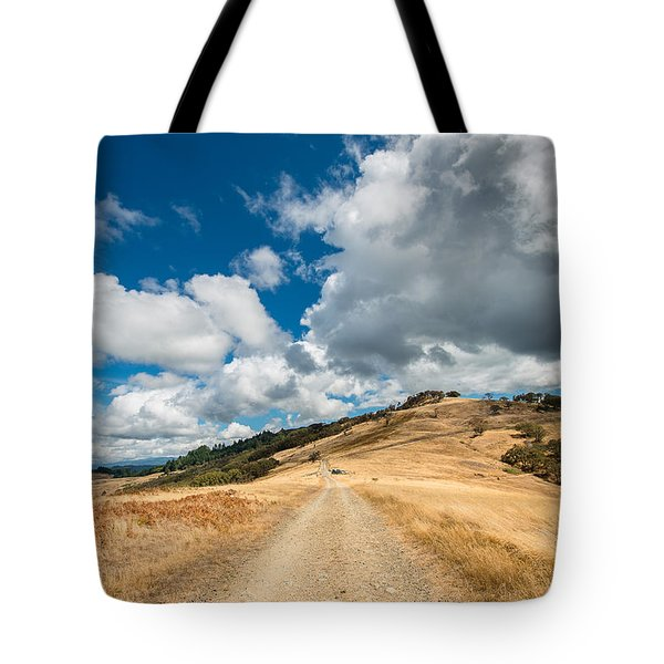 Ball Hills In Summer 3 Tote Bag