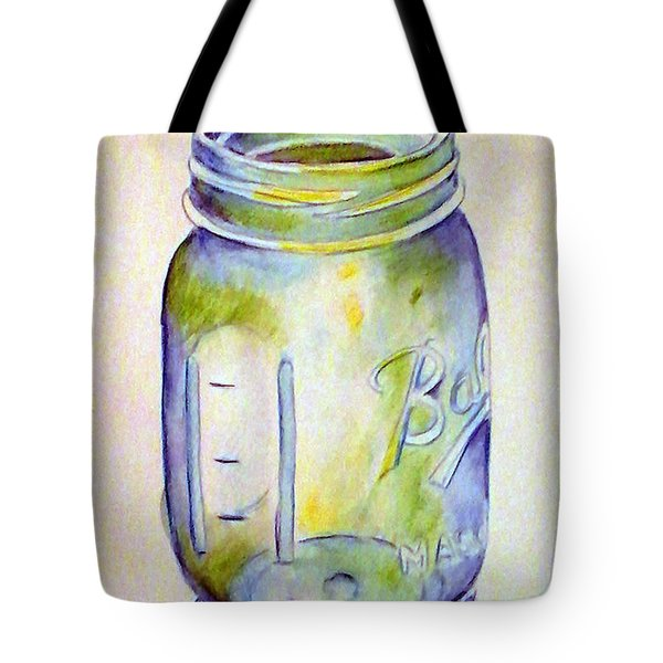 Ball Mason Jar Tote Bag
