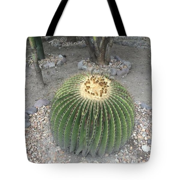 Tote Bag featuring the photograph Ball On Thorns by Cindy Charles Ouellette