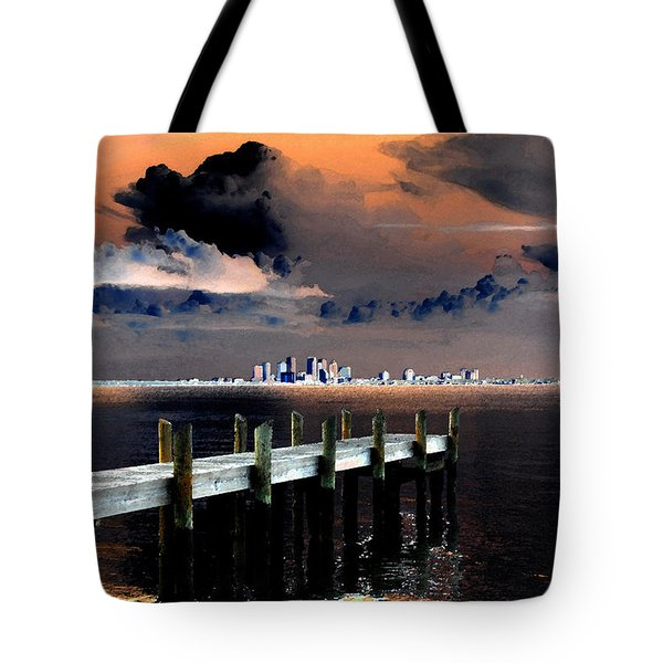 Ballast Point Tote Bag by David Lee Thompson