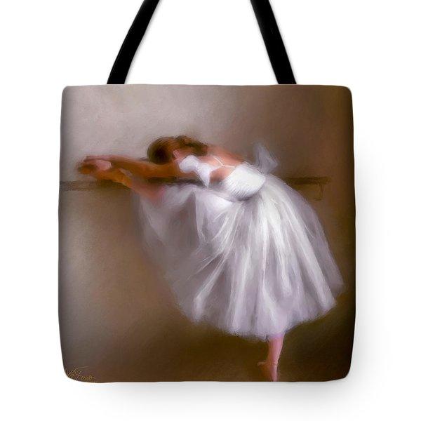Tote Bag featuring the photograph Ballerina 1 by Juan Carlos Ferro Duque