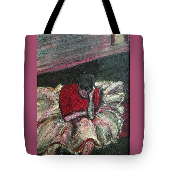 Ballerina After Practice Tote Bag