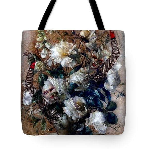 Ballerina Bouquet Tote Bag by G Berry