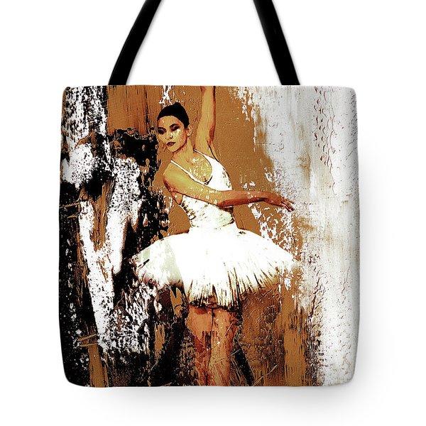 Ballerina Dance 093 Tote Bag