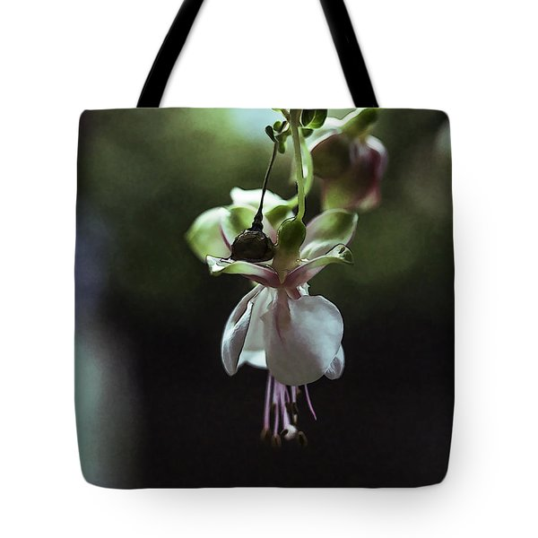 Tote Bag featuring the photograph Ballerina Flower by Paula Porterfield-Izzo
