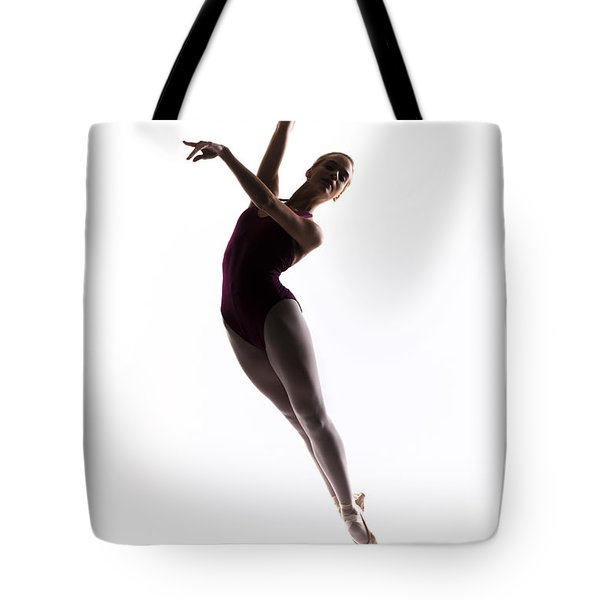 Ballerina Jump Tote Bag by Steve Williams