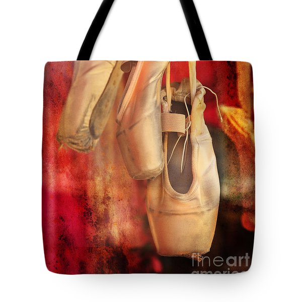 Ballerina Shoes Tote Bag by Craig J Satterlee