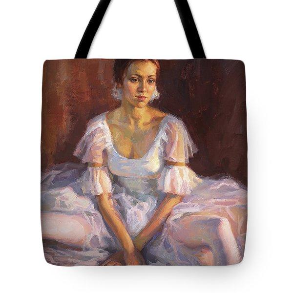 Ballerina's Daydream Tote Bag