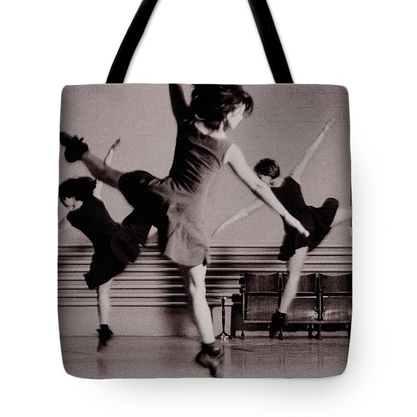Tote Bag featuring the photograph Ballet #10 by Hans Janssen
