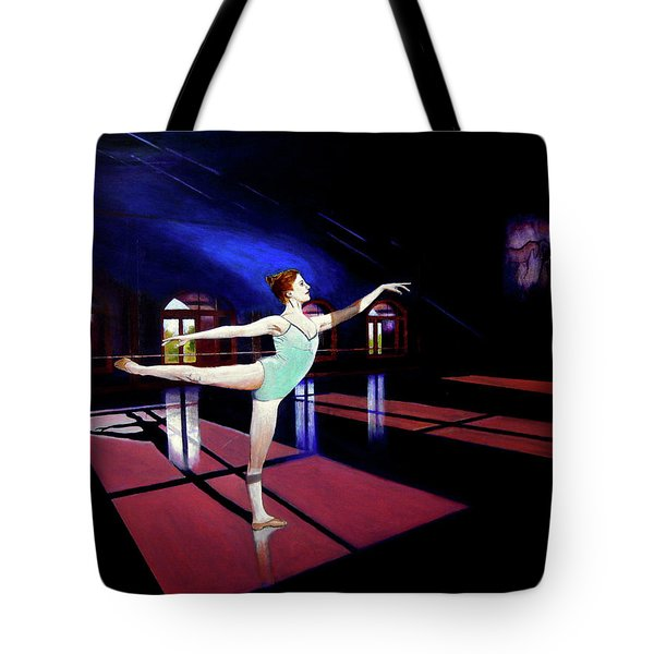 Ballet At Kaatsbaan Tote Bag