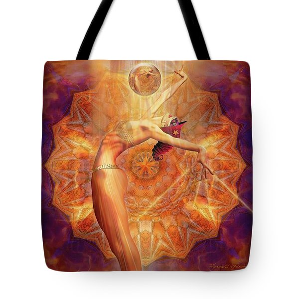 Ballet Burlesque  Act II Tote Bag by Joseph J Stevens