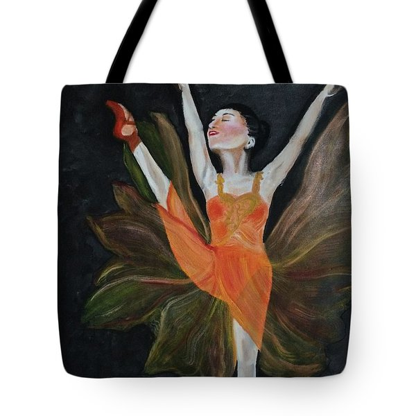 Ballet Dancer 1 Tote Bag by Brindha Naveen