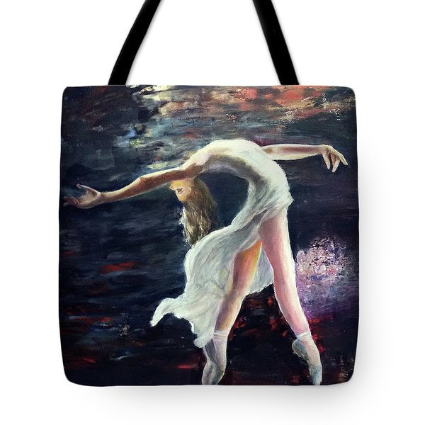 Ballet Dancer 2 Tote Bag