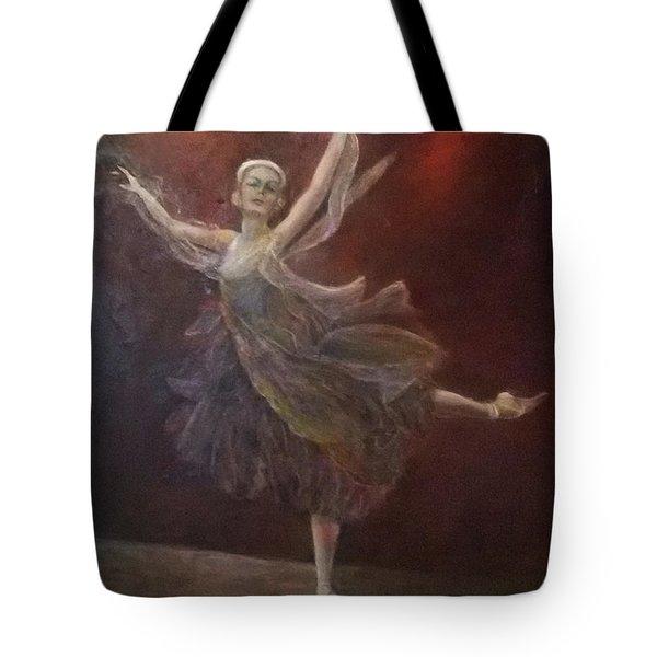 Ballet Dancer Anna Pavlova Tote Bag