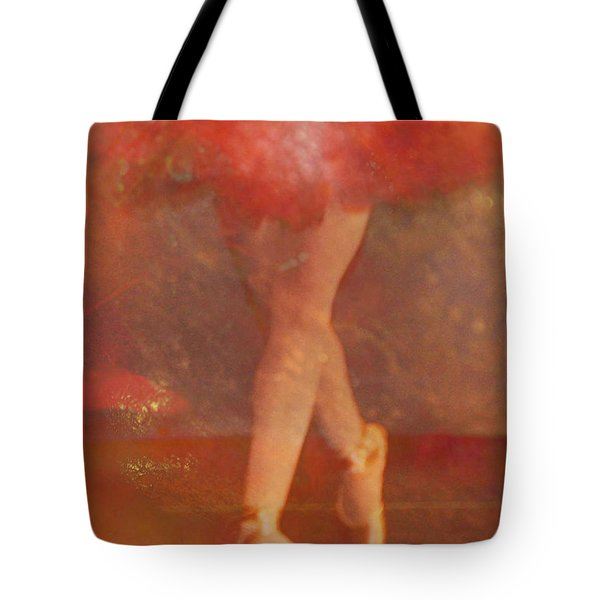 Ballet Dancer Tote Bag by Catherine Alfidi