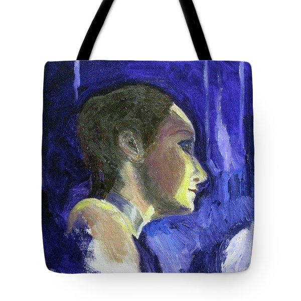 Ballet Dancer Tote Bag