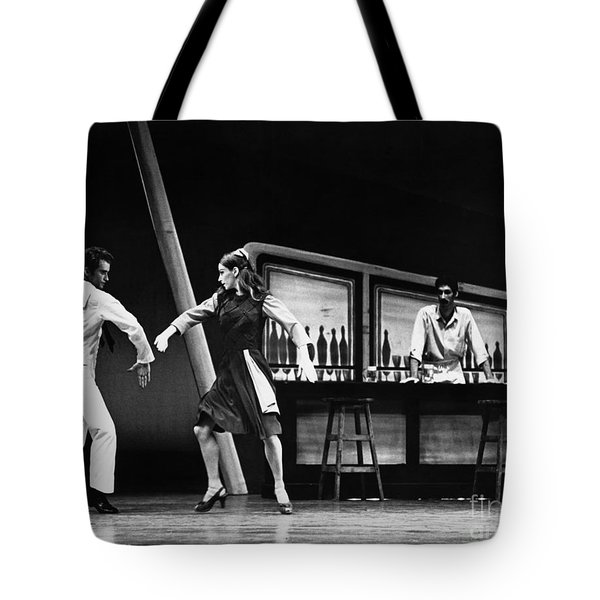 Ballet Fancy Free C1970 Tote Bag by Granger