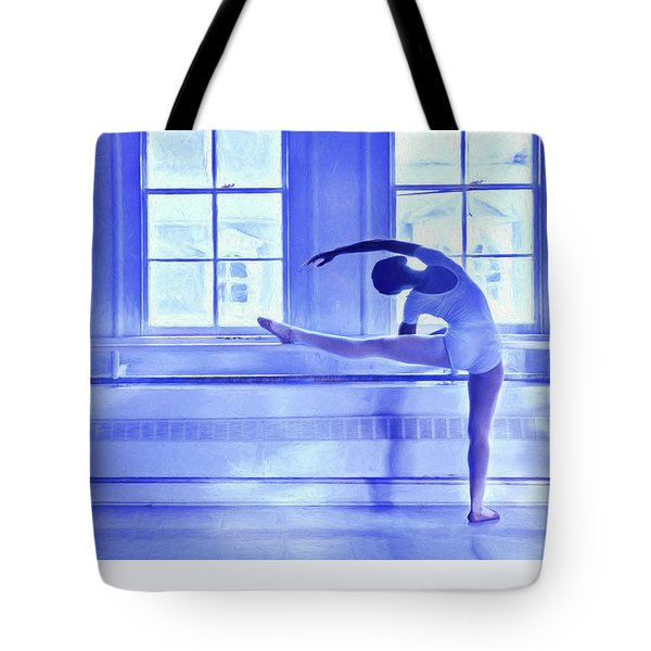 Ballet Tote Bag by George Robinson