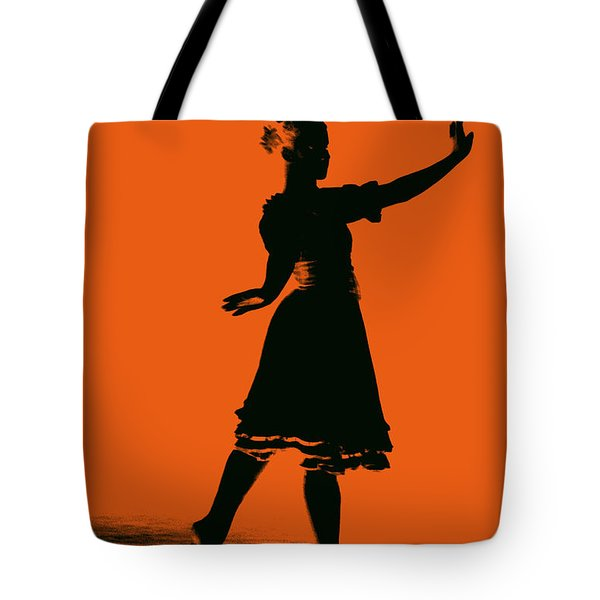 Tote Bag featuring the photograph Ballet Girl by Donna Bentley