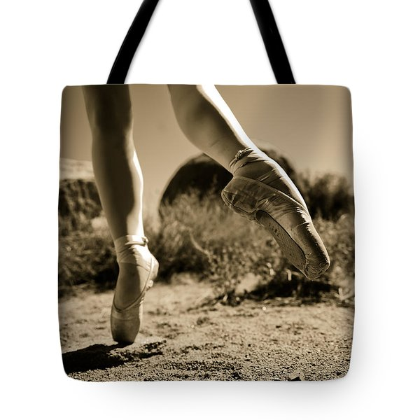 Ballet Pointe Tote Bag
