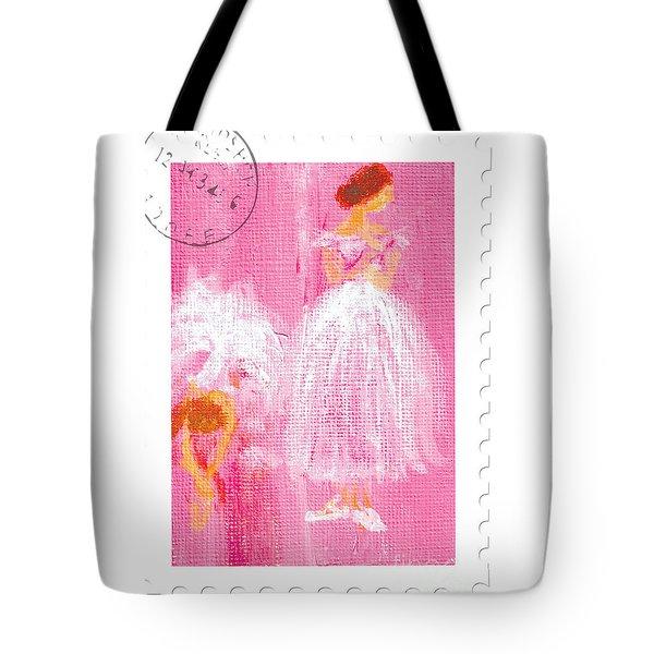Ballet Sisters 2007 Tote Bag by Marie Loh