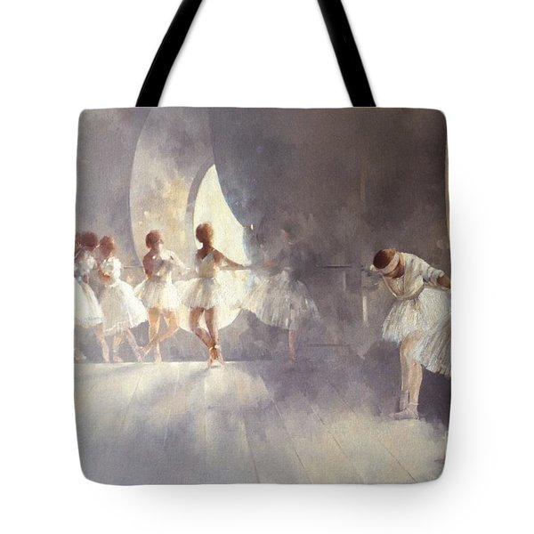 Ballet Studio  Tote Bag