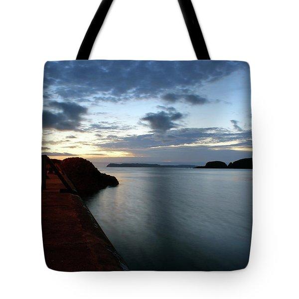 Ballintoy Dawn Tote Bag