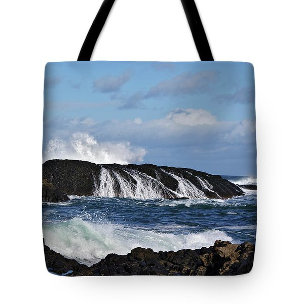 Tote Bag featuring the photograph Ballintoy Rocks by Colin Clarke