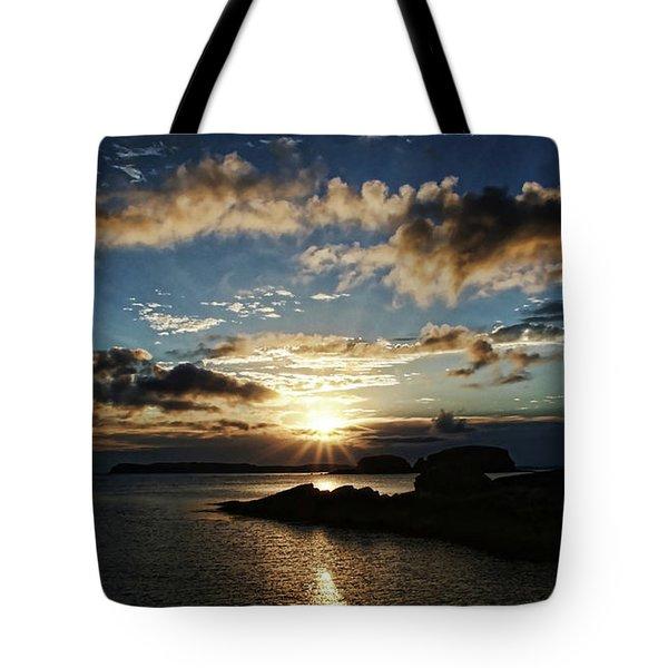 Ballintoy Sunrise Tote Bag