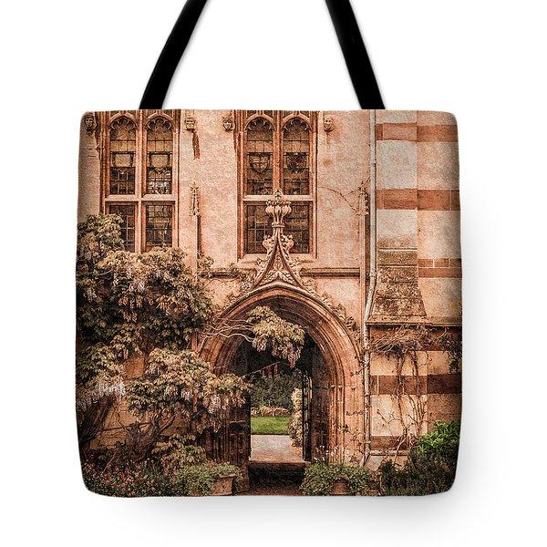 Oxford, England - Balliol Gate Tote Bag