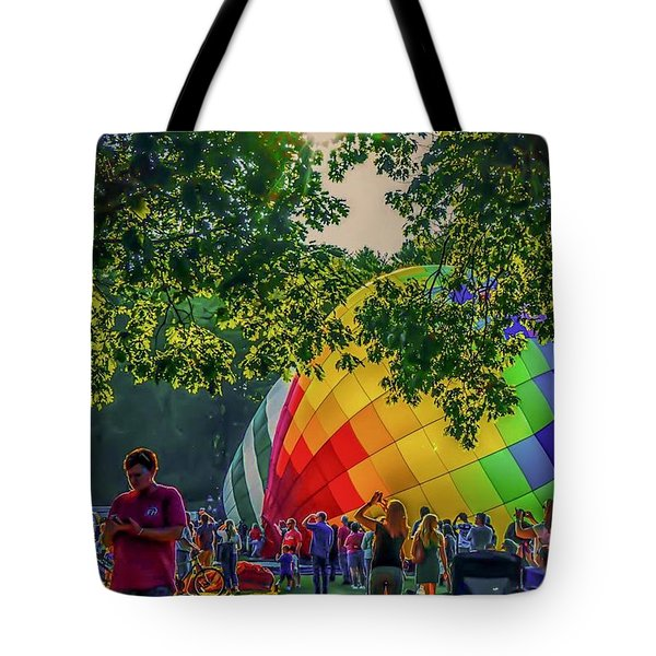 Balloon Fest Spirit Tote Bag