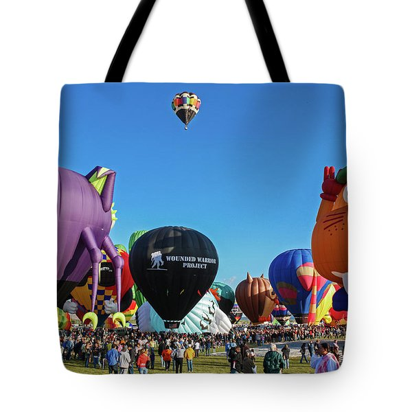 Balloon Fiesta Albuquerque I Tote Bag