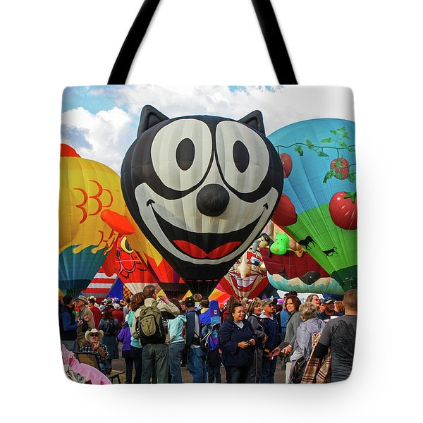 Balloon Fiesta Albuquerque II Tote Bag