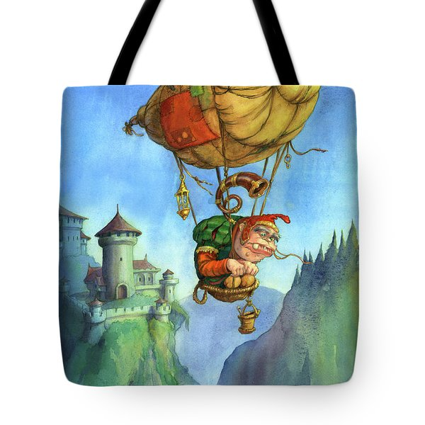 Balloon Ogre Tote Bag