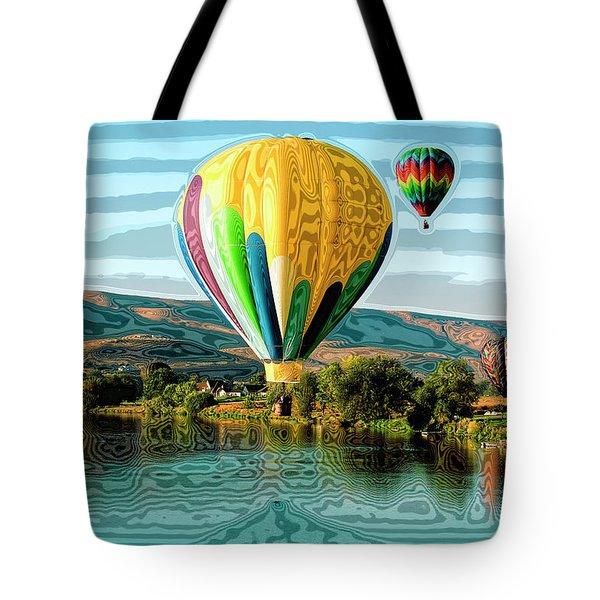 Balloon Rides Tote Bag