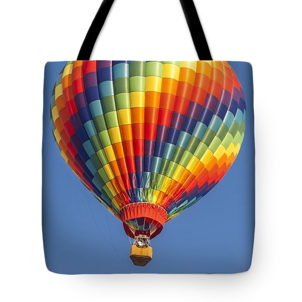 Ballooning In Color Tote Bag