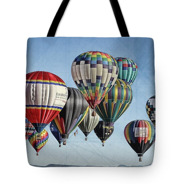 Ballooning Tote Bag by Marie Leslie
