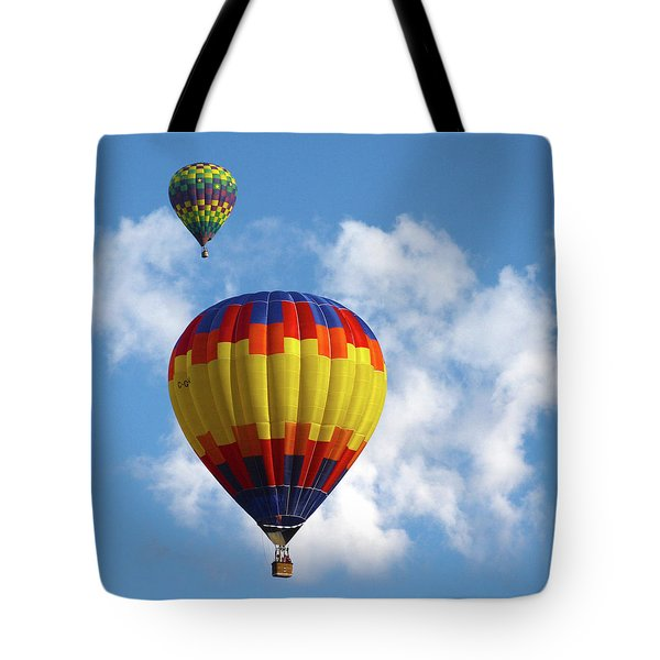 Balloons In The Cloud Tote Bag
