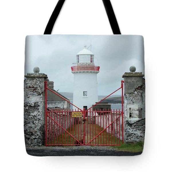 Ballyglass Lighthouse Tote Bag