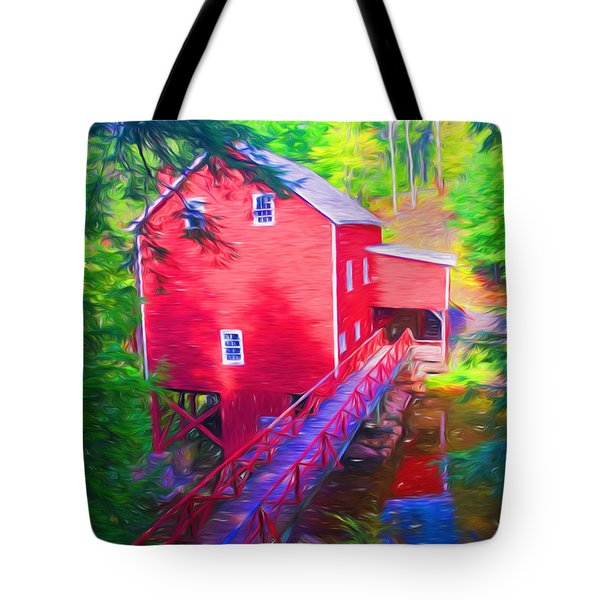 Balmoral Grist Mill Museum Tote Bag