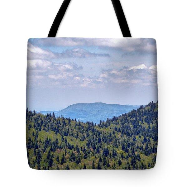 Balsam View Tote Bag