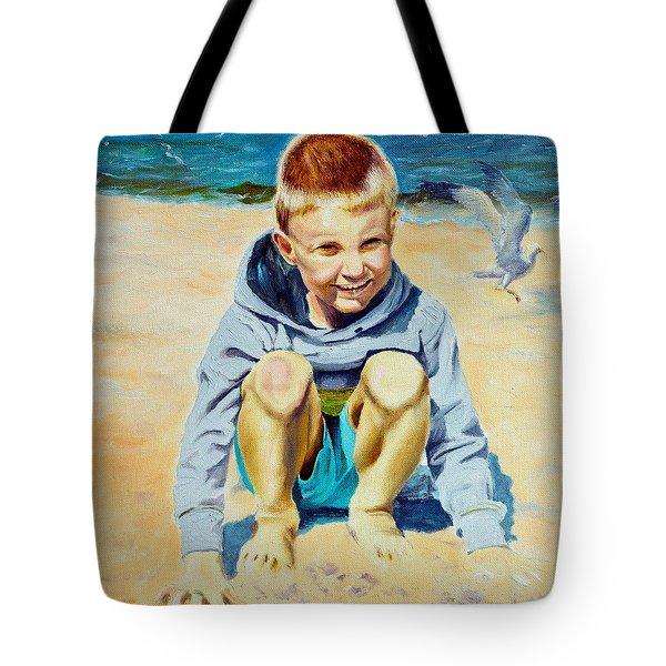 Baltic Beach Tote Bag