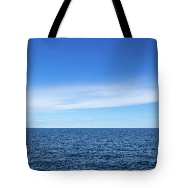 Baltic Sea And Blue Sky Tote Bag
