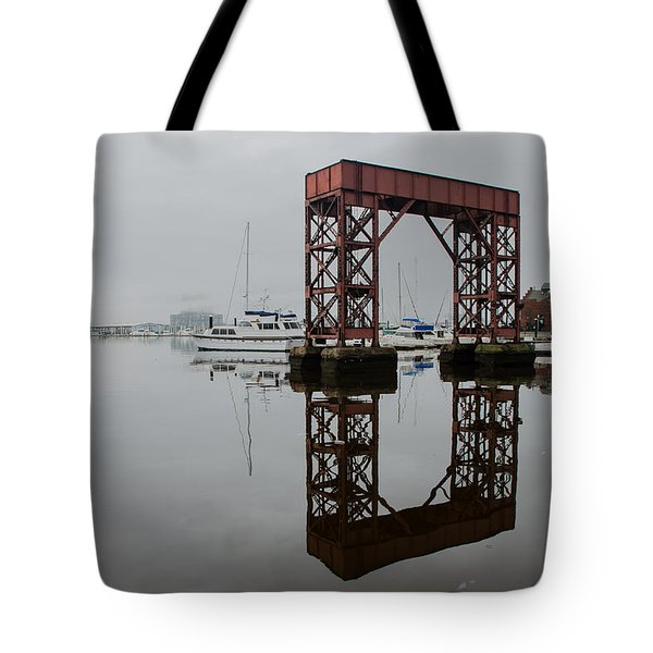 Baltimore Canton Waterfront Tote Bag by Steven Richman