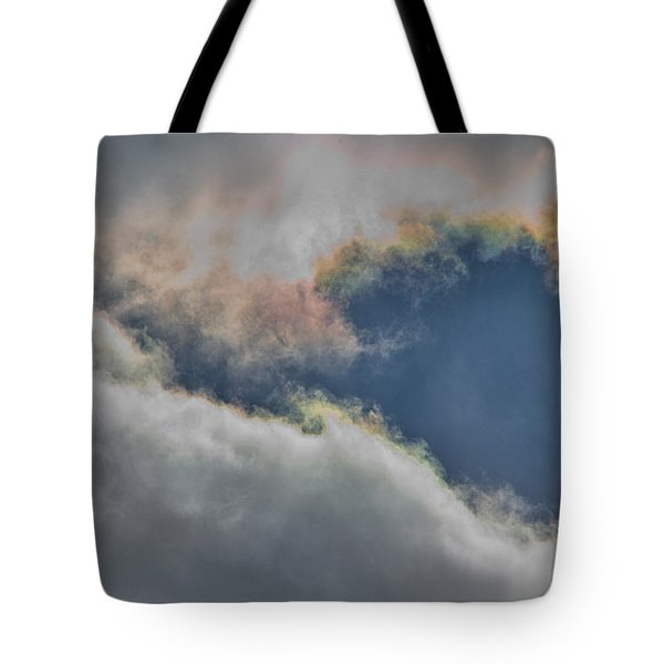 Baltimore Cloudscape Tote Bag by Steven Richman