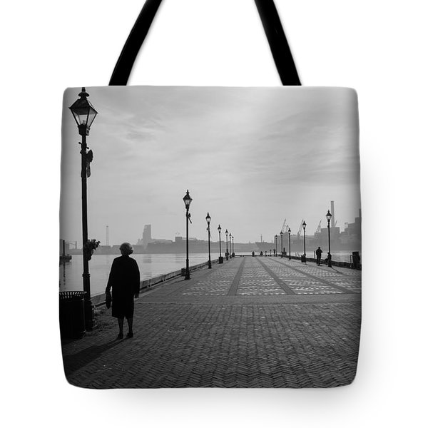 Baltimore Fells Point 2 Tote Bag by Steven Richman
