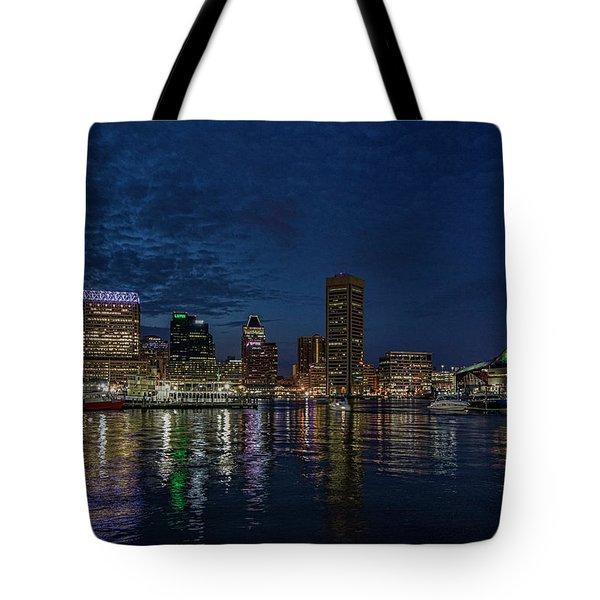 Baltimore Harbor Tote Bag