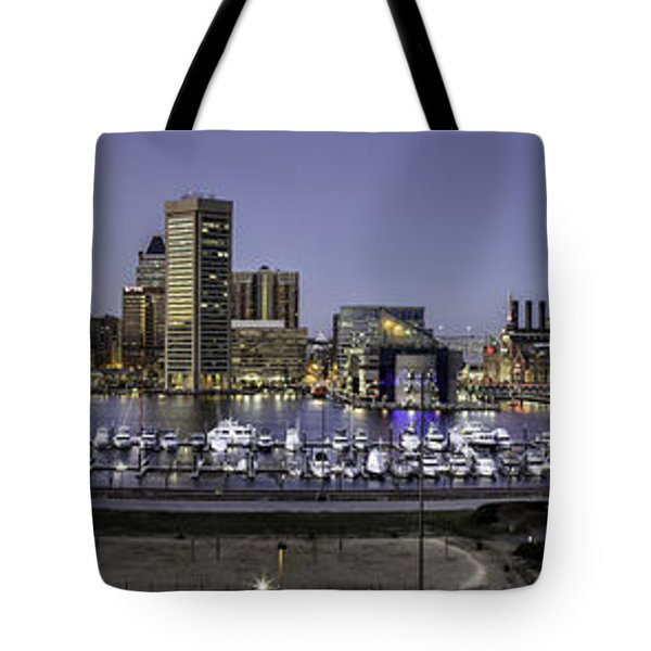 Baltimore Inner Tote Bag by Eduard Moldoveanu