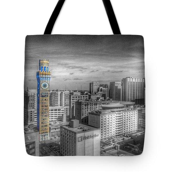 Baltimore Landscape - Bromo Seltzer Arts Tower Tote Bag